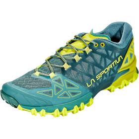 La Sportiva Bushido II Buty do biegania Mężczyźni, pine/kiwi
